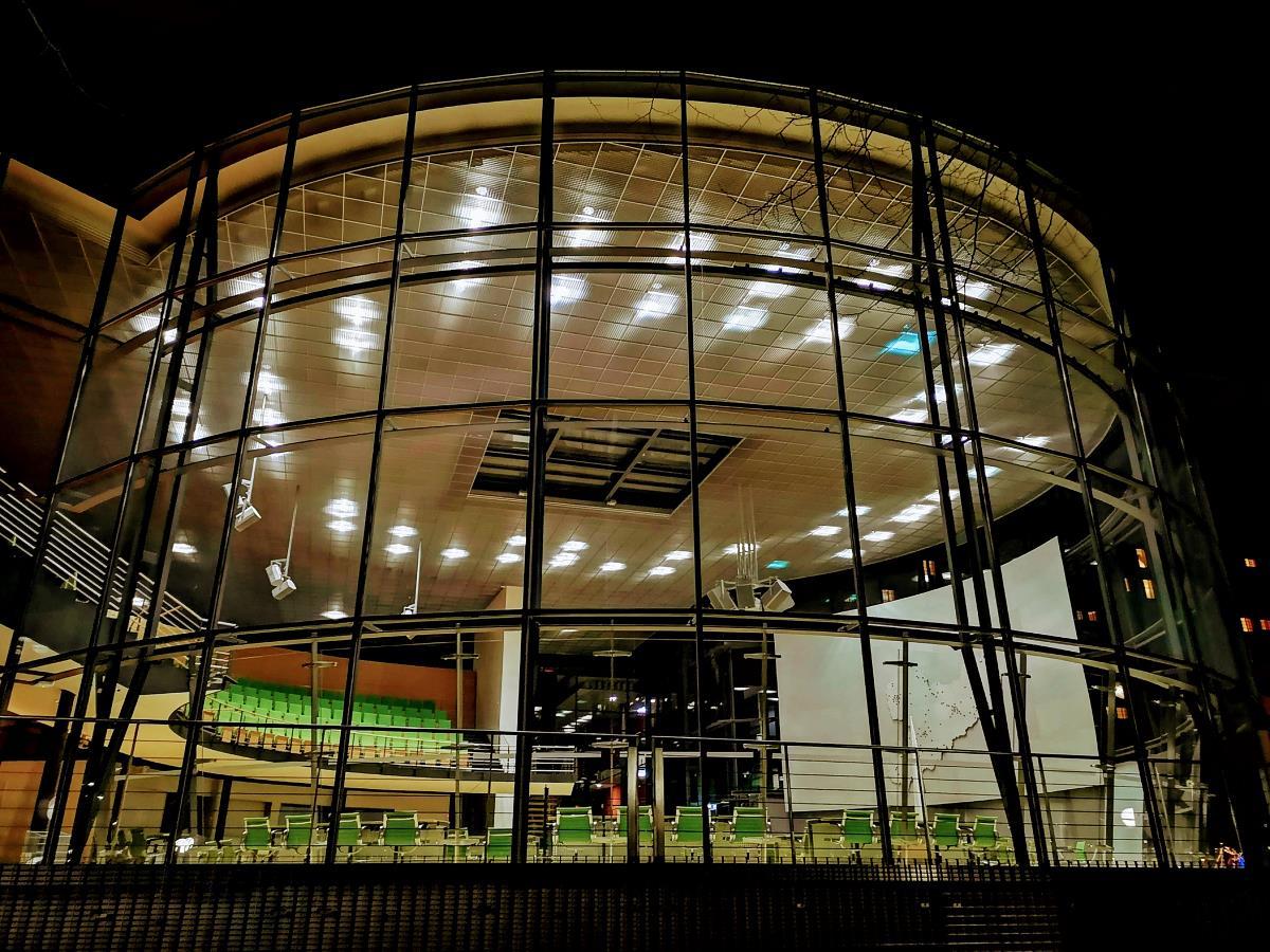 Plenarsaal des Sächsischen Landtags
